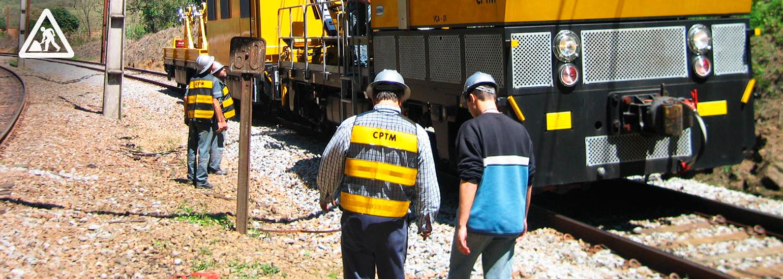 CPTM - Obras de modernização alteram circulação dos trens neste fim de semana